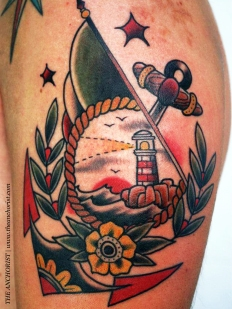 italian-american-flag-n-cross-tattoo-on-biceps-3