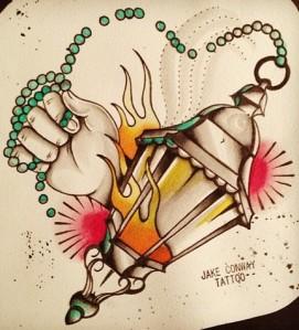 lantern jake conway tattoo