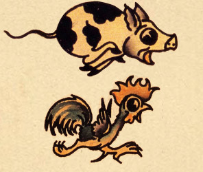 sailor jerry pig and rooster