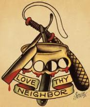 sailor jerry love the neighbor