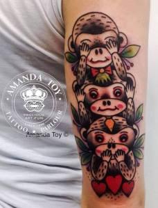 Lollo red traditional tattoo it for Prezzi tatuaggi amanda toy